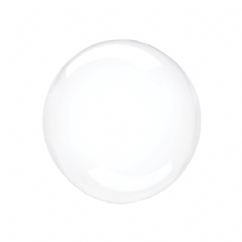 "Crystal Clearz Petite Balloon - Clear Crystal Clearz Petite  (12"") 1pc"